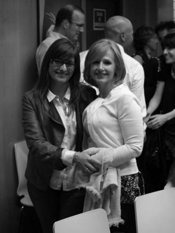 Con mi amiga Esther