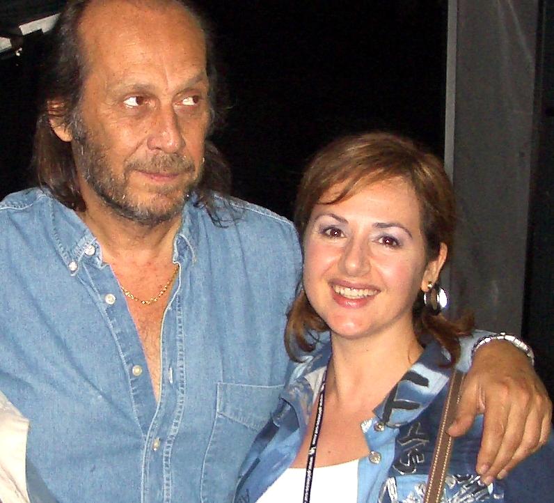 Con Paco de Lucía