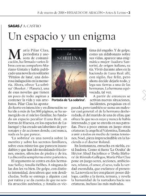La sobrina - A Castro - Heraldo