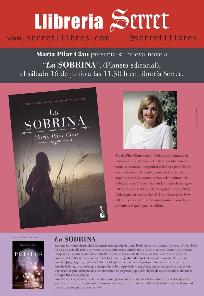 cartel María Pilar Clau